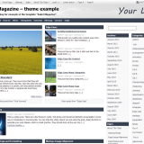 Template Asket-magazine for WordPress