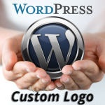 Custom logo for wordpress template