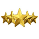 Simple css rating bar via stars